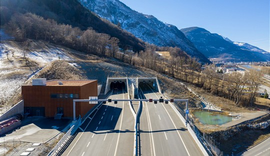 A9 Tunnel d'Eyholz